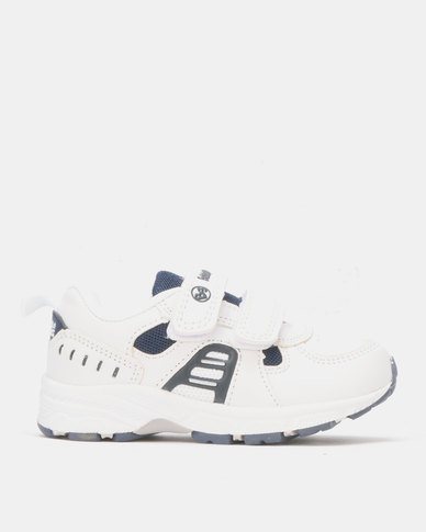 Bubblegummers Boys Shoes White/Navy