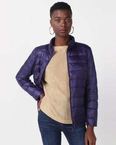 Utopia Down Inner Puffer Jacket Navy