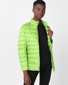 Utopia Down Inner Puffer Jacket Green