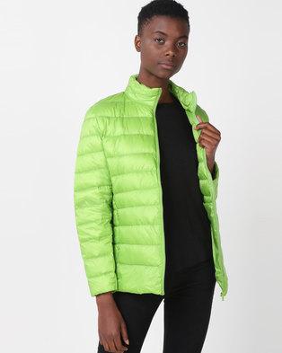 Utopia Down Inner Puffer Jacket Green