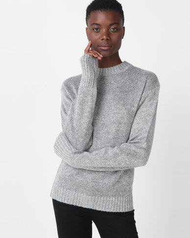 Utopia Oversized Jumper Grey