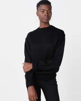 Utopia Oversized Jumper Black