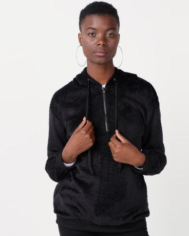 Utopia Teddy Sweatshirt Black