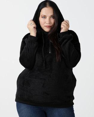 Utopia Plus Teddy Sweatshirt Black