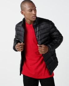 Utopia OPP Puffer Jacket Black