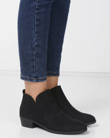 Madison Western Ankle Boots Black