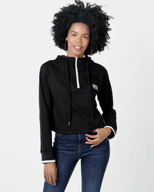 Rip Curl Epic Heights Crop Hood Black