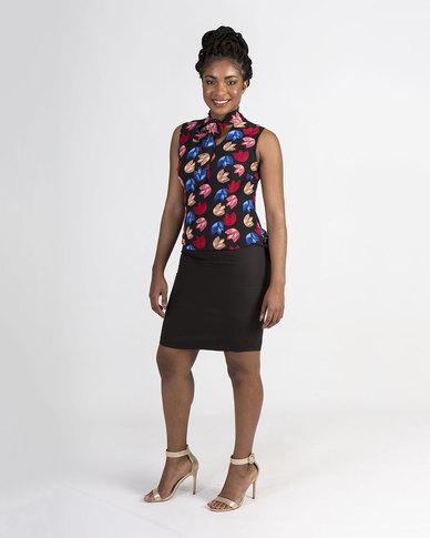 Mamoosh pencil mini skirt Black