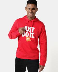 Nike M NSW JDI PO FLC Hoodie Red