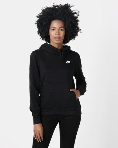 Nike Womens NSW FNL Fleece Black