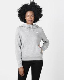 Nike Womens NSW FNL Fleece Grey