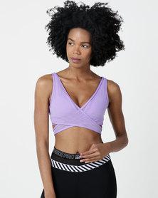 Nike Performance Nike Air Mesh Bra Purple