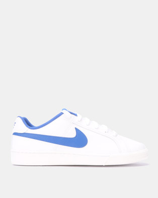 34d028987ccaa Nike Court Royale White Game Royal