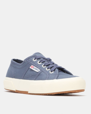 Superga Classic Canvas Sneaker Blue Shadow