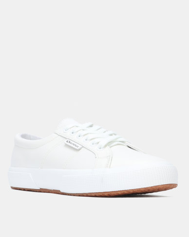 Superga Nappa Leather White