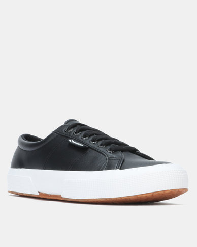 Superga Nappa Leather Black