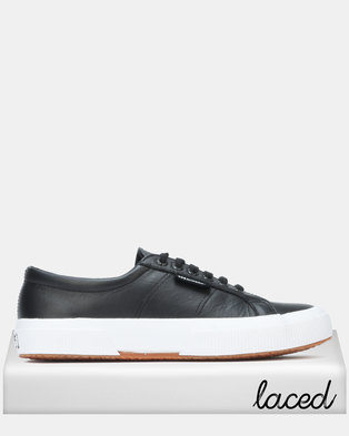 96f1e8f483d Superga Nappa Leather Black