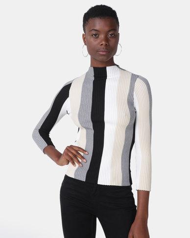 Royal T Striped Sweater Multi