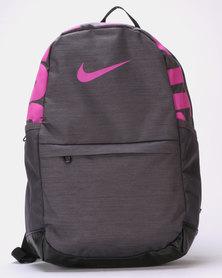 Nike Y NK BRSLA Backpack Grey