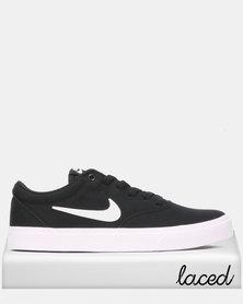 Nike SB Charge CNVS Sneakers Black/White