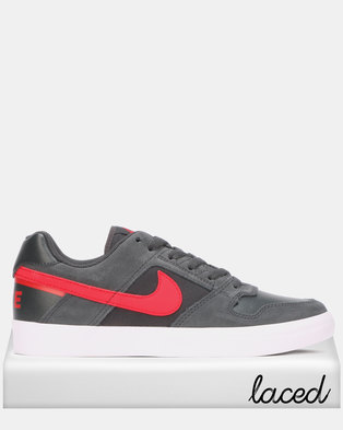 newest fd9a8 3e97c Nike SB Delta Force Vulc Anthracite University Red-Black