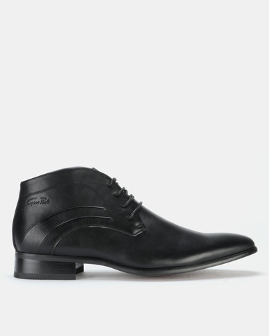 Gino Paoli Boots Lace Up Black