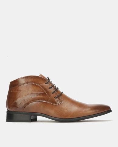 Gino Paoli Boots Lace Up Camel