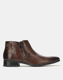 Gino Paoli Boots Slip On Brown