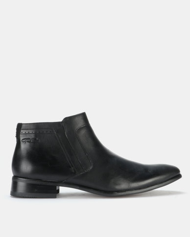 Gino Paoli Boots Slip On Black