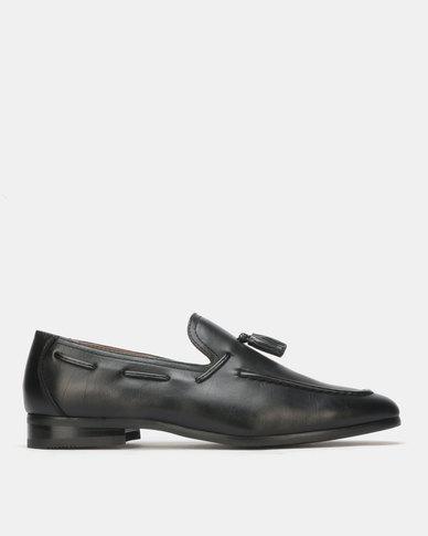 Gino Paoli Formal Slip On Black