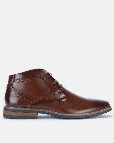 Gino Paoli Boots Lace Up Brown