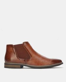 Gino Paoli Boots Slip On Tan