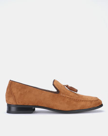 Gino Paoli Formal Slip On Rust