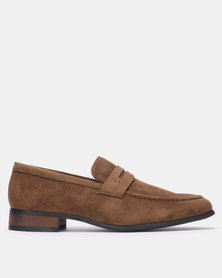 Gino Paoli Formal Slip On Khaki
