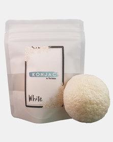 Konjac Sponge - White