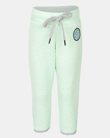 Rip Curl Mini Quilla Track Pants Mint