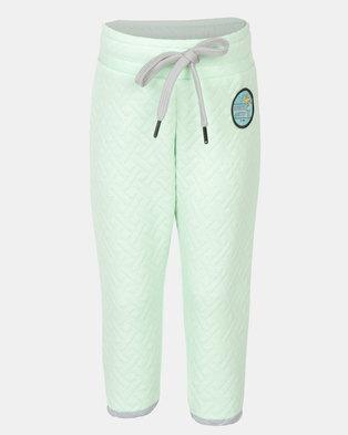 Rip Curl Mini Quilla Track Pants Mint