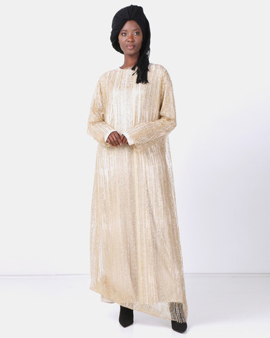 Mishah Bling Overlay Dress