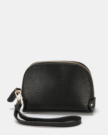 Miss Maxi Must Have Wristlet Bag  Black