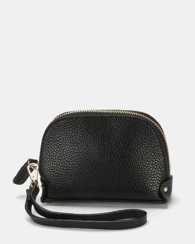 Miss Maxi Must Have Wristlet Bag  Black
