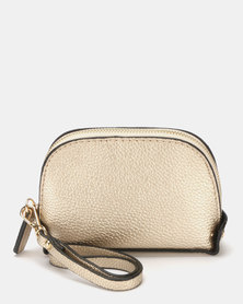 Miss Maxi Must Have Wristlet Bag Gold