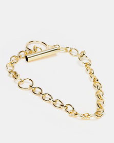 Miss Maxi Link Necklace Gold