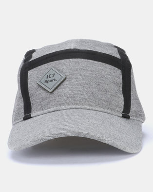 9a3dce412ca90 K-Star 7 Sport Reverse Curved Peak Cap Grey