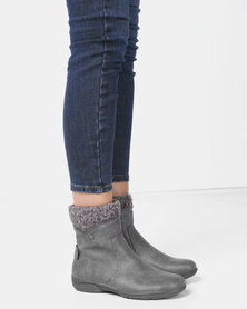DR Hart Zadie Ankle Boots Grey