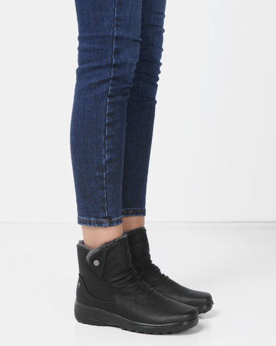 DR Hart Dawn Ankle Boots Black