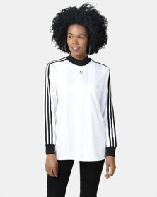 adidas Originals Long Sleeve Tee White