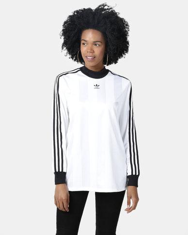 adidas Originals Long Sleeve Tee White