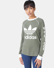 adidas Originals OG Long Sleeve Tee Olive