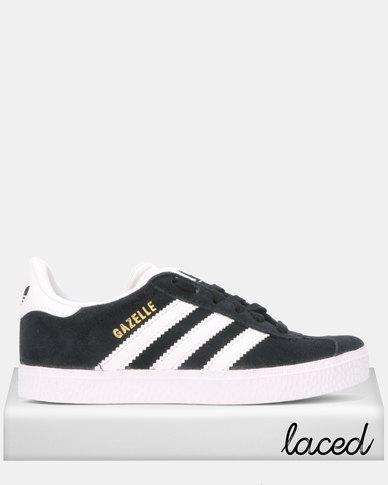 hot new products sale retailer new arrive adidas Originals Gazelle C Sneakers Black