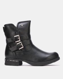 Bronx Women Stella W9 Ankle Boots Black
